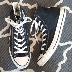 Converse All Star Black High Top Sneakers Men's 11